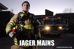 when there's a new operator that is similar to jager