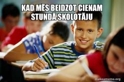 Scumbag Student