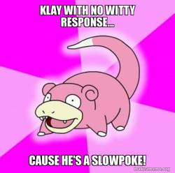 Slowpoke the Pokemon
