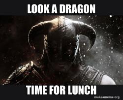 Skyrim dragon soul lunch