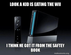 Wii saftey taken