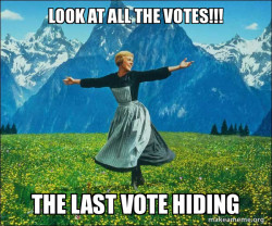 Run away  vote!!