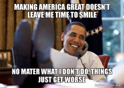 Lazy Obama Meme