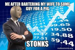 Barter meme