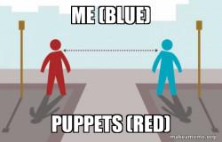 Pupaphobia Social Distancing