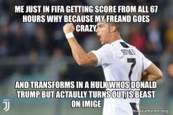 crazy dude goes go crazy go stupid