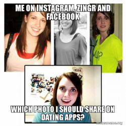 Meet ZINGR app or Instagram