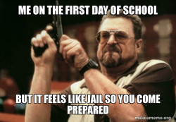 School and jail