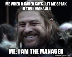 when i met a karen