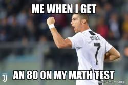 Ranaldo test score
