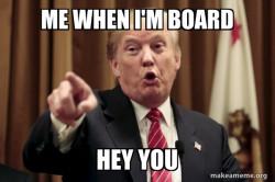Donald Trump Says blablabla