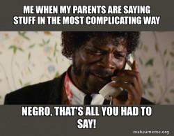 Shit Negro - Pulp Fiction