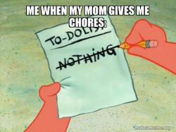 me chores