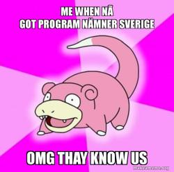 Slowpoke the Pokemon