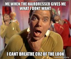 Captain Kirk Choking