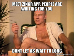 Meet zingr app. People are waiting for you