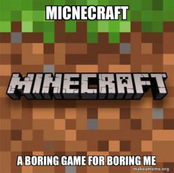 A boring game