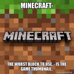 Blockiest game.