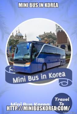 Mini Bus in Korea