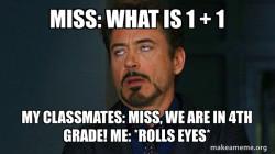 Math rolls