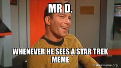 Ridiculously Photogenic Starship Captain