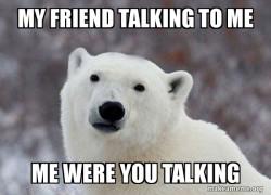 Popular Opinion Polar Bear