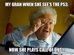PS3 Grandma