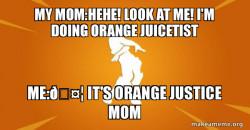 Orange Juicetist
