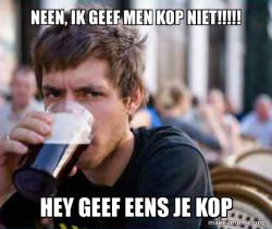 kop of coffie