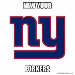 New your Forkers
