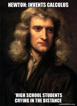 Sir Isaac Newton memeeee