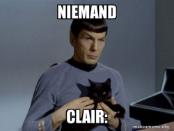 Spock and Cat Meme
