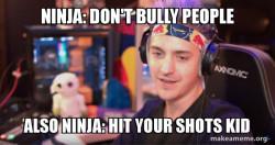 Don't bully anyone