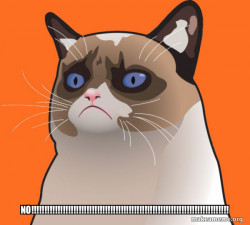 Cartoon Grumpy Cat