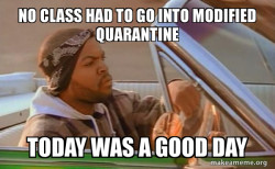 Today was a good day