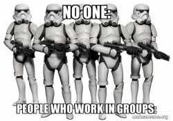 People Who Work in Groups