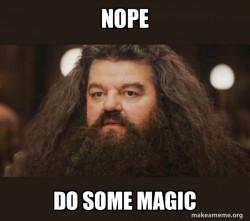 Hagrid - im rite?