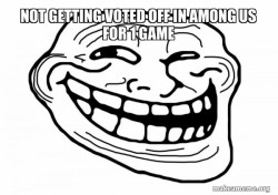 Not Getting Voted Off in Among Us For 1 Game