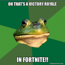 Oh That's A Victory royale