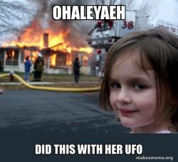 Ohaleyaeh ufo disaster