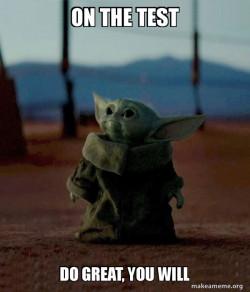 Baby Yoda do great