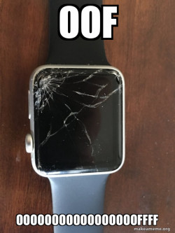 Broken Apple Watch