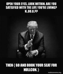 Trump Sitting In Chair - I Am In Their Way