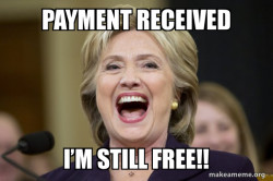 Hillary Clinton Laughs