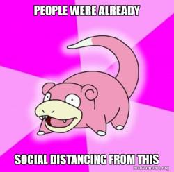 Slowpoke social
