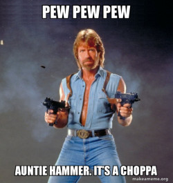 Auntie hammer