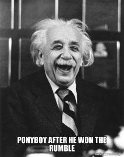 Laughing Albert Einstein