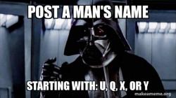 Vader Says
