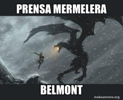 Ricardo Belmont vs prensa mermelera