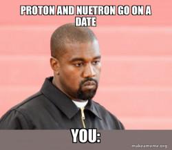 Protons, eltrons, me